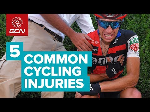 5 Most Common Injuries In Pro Cycling & How They're Treated | Tour de France 2018