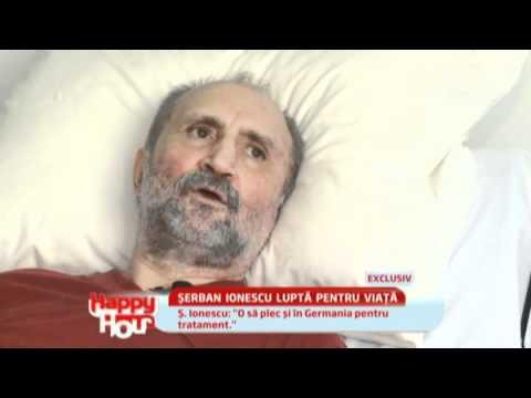 Suferinta actorului Serban Ionescu