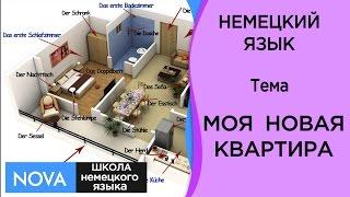 МОЯ НОВАЯ КВАРТИРА Немецкий Язык Разговорный Курс на тему Моя новая квартира Школа NOVA