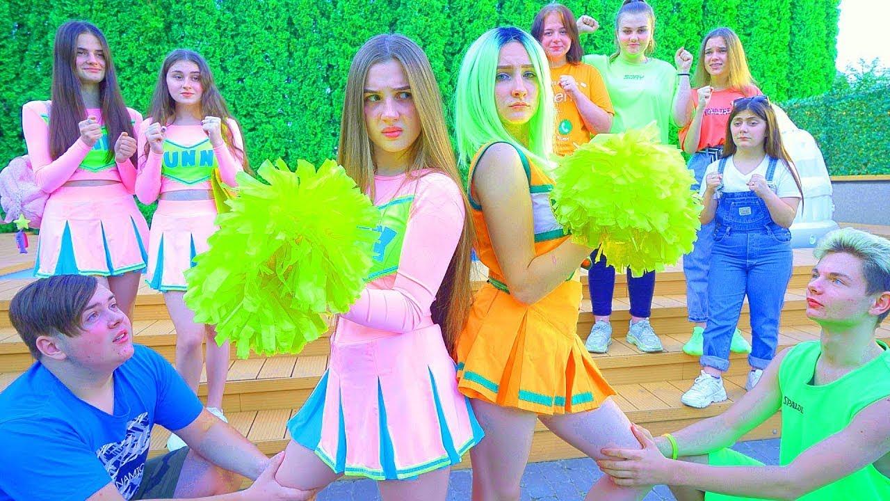 الفتاة ذات الخس الأخضر مقابل ديانا - من سيكون المشجع؟