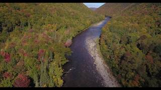Big Intervale Fishing Lodge - 2km of river (lots of walking) downstream - Fall 2018