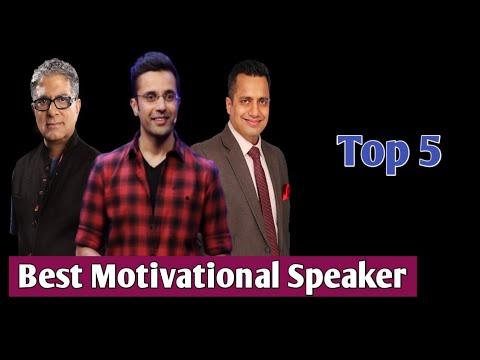 Top 5 Motivational Speakers In India 2021   Best Motivational Speaker in India