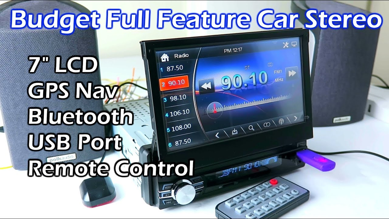 """Download Budget Full Feature 7"""" LCD Touchscreen Car Stereo RM-CW0013G"""