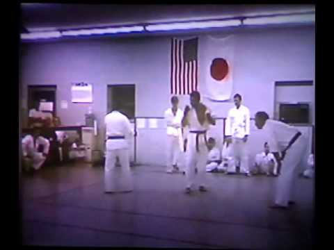 Choplin Sensei 1993 Kumite