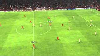 Liverpool 6 - 0 Roma 2011-12(UEFA Champion League 1st Knockout Rnd) - Match Highlights