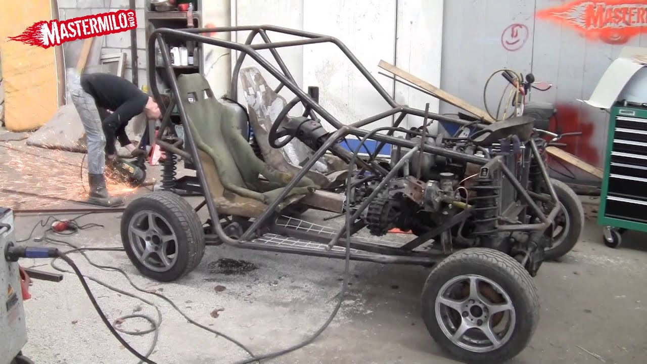 Building a 4x4 buggy out of a Ford KA, Sierra and VW Golf!