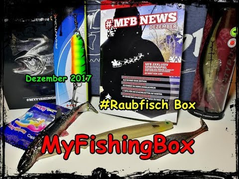 My Fishing Box Raubfischbox Dezember 2017