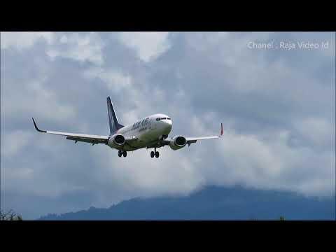 NAM Air Landing di Bandara Sam Ratulangi Manado
