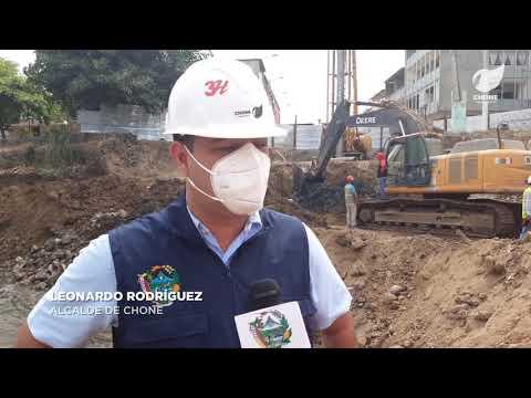 Los trabajos en el Puente El Jardín avanzan a buen ritmo