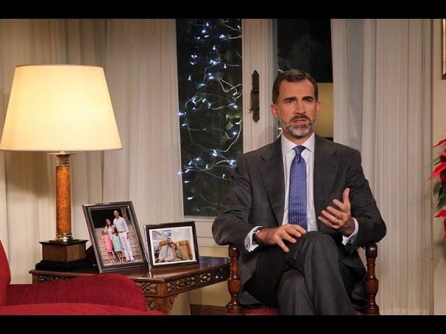 Mensaje de Navidad de Su Majestad el Rey 2014