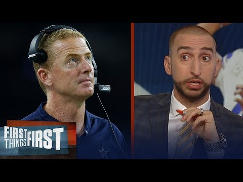 Should Jason Garrett Be On The Hot Seat In Dallas? Nick And Cris Discuss | NFL | FIRST THING FIRST