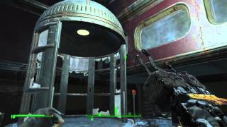 Fallout 4 - Mass Fusion Executive Terminal, Brotherhood Gameplay, Oslow Office Halo Tape PS4
