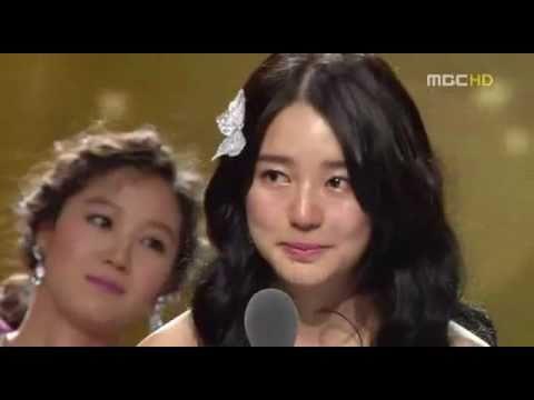 """Yoon Eun Hye 윤은혜- MBC """"Top Excellence Award"""" 2007"""