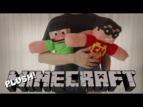 Minecraft Plush: Nova Skin dos Poligonautas Final