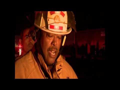 SAFD Chief Charles Hood speaks after firefighter killed in Ingram Square blaze
