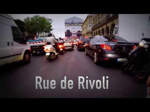 🚲 Daily Obs N°08 🎥 : Les travaux rue de Rivoli - Pour l'instant, ça passe encore bien.