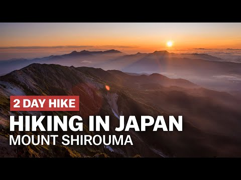 Hiking In Japan: Above The Clouds On Mt. Shirouma | Japan-guide.com