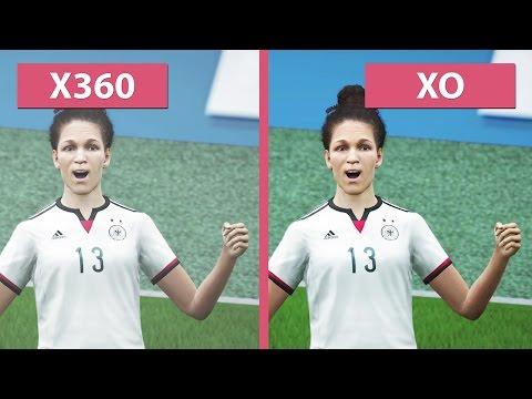 FIFA 16 – Xbox 360 Vs. Xbox One Graphics Comparison [FullHD][60fps]