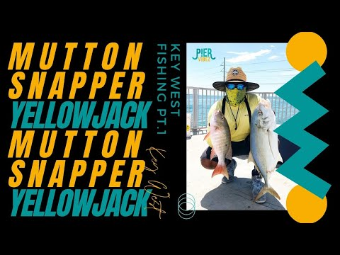Fishing Key West.....Part 1 (Mutton Snapper, Big!!! Yellow Jacks)