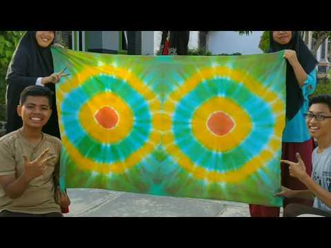 Cara Membuat Batik Jumputan / Batik Ikat / Batik Celup (Tutorial)