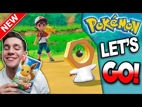 Pokémon Let's Go WALKTHROUGH ADVENTURE + POKÉMON LET'S GO & POKÉBALL PLUS GIVEAWAY!