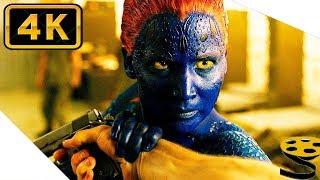 Мистик против Страйкера | Люди Икс: Дни минувшего будущего (2014) 4K ULTRA HD