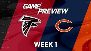Atlanta Falcons vs. Chicago Bears | Week 1 Game Preview | NFL Total Access