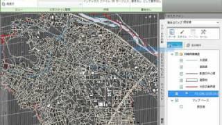 12: AutoCAD Map 3Dの基盤地図情報を活用した図面作成