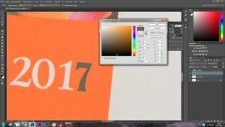 Замена цифры в Adobe Photoshop