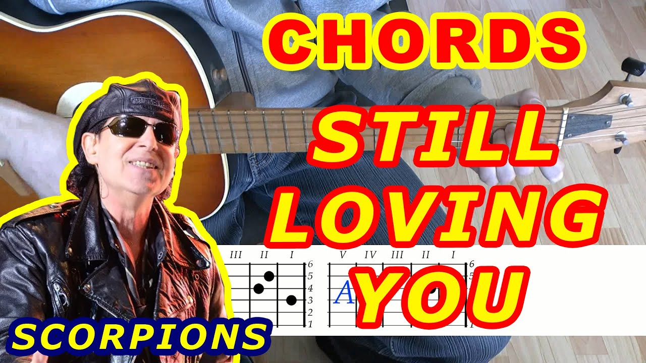Guitar Chords Lesson Scorpions Still Loving You Youtube