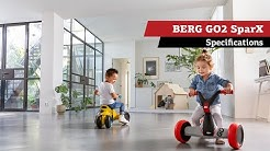 BERG GO2 SparX | Yellow & Red | specifications