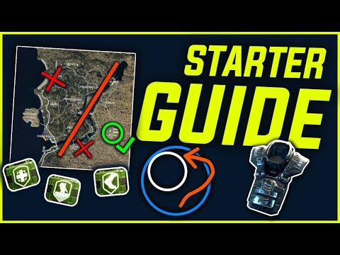 BLACKOUT [BETA] STARTER GUIDE - Dropping, Looting & Planning
