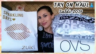 SALDI PAZZI: Piazza Italia OVS & Zuiki  👗  TRY ON HAUL!!!