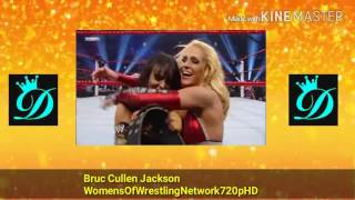 WWE Night Of Champions 2010 Melina vs Michelle McCool Unification Match