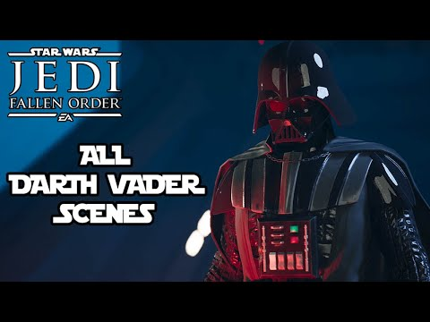Star Wars Jedi: FALLEN ORDER - All DARTH VADER Scenes @ 1080p (60ᶠᵖˢ) ✔