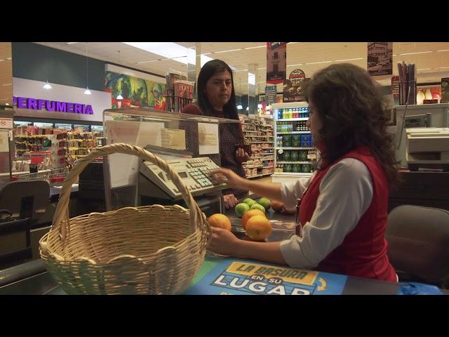 Toma las riendas de tu consumo - Uso de canasto en supermercado