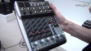 mmag.ru: Musikmesse 2015 - Behringer XENYX QX 602 mp3 - микшер