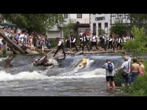 Video-Kollage zur Austellung: Flößerei im Bilde der Kunst