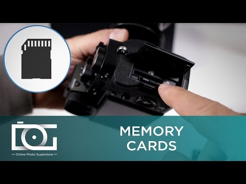 Fujifilm X-T2: Memory Card Compatibility | Memory Card Use | SD Cards UHS-1 UHS-2 | Video Tutorial