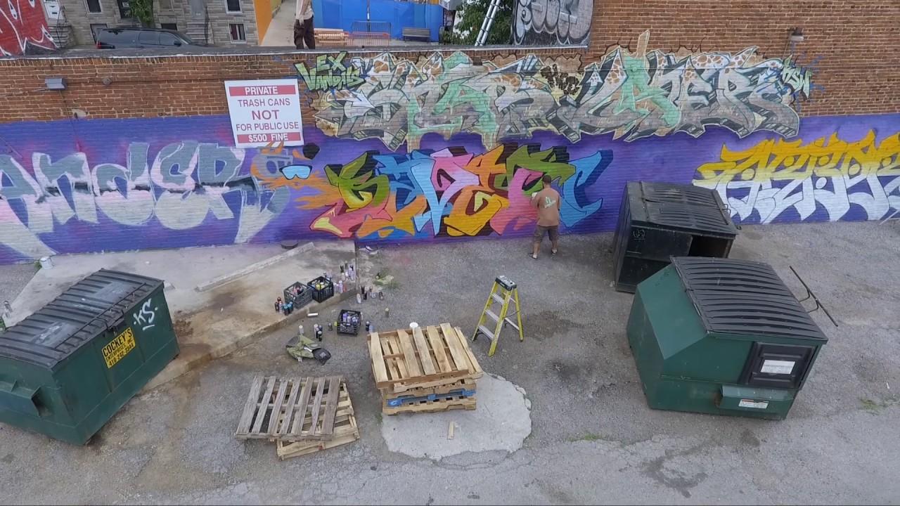 Graffiti wall baltimore - Bay Island Graffiti Wall Baltimore Md