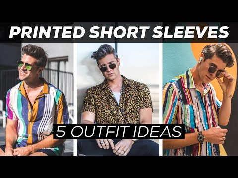How To Style Patterned Shirts   Outfit Ideas   Parker York Smith