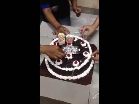 Yesungs Birthday Cake from ELF Bali Indonesia YouTube