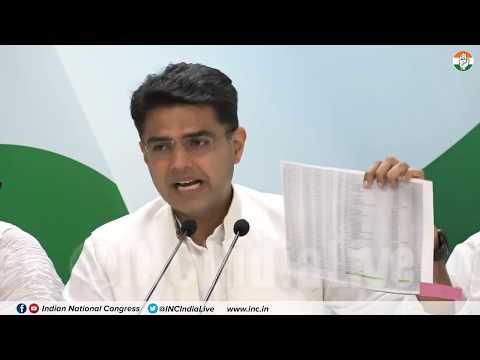 LIVE: AICC Press Briefing By Sachin Pilot, Rajeev Satav and Sushmita Dev at Congress HQ