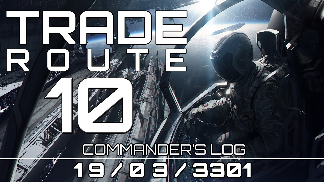 Elite: Dangerous   Making Money   Anaconda   Trade Route ...