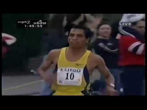Silvio Guerra - 1999 Boston Marathon