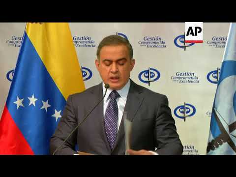Venezuela AG: Ex-AG failed to do anything for years