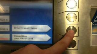 How to recharge an Opus card.wmv