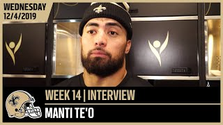 Manti Te'o Excited to be Back with the Saints | New Orleans Saints Football
