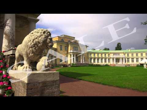 The estate Marino in the Leningrad region. 4K.