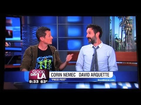 "Good Day LA interview with ""David Arquette"" & ""Corin Nemec"" 